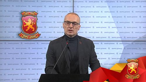 ВО ЖИВО: Прес – конференција на Антонијо Милошоски