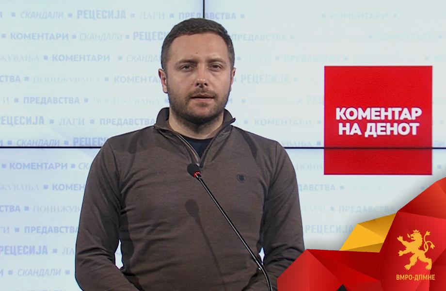 Арсовски: Власта цела недела молчи за доделените тендери во вредност од половина милион евра за маркетинг услуги