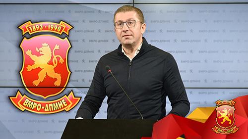 Мицкоски: Постои коалиција на криминалот Заев, Мијалков, се договорија да избега, мафијата мора да падне, оставка на Спасовски веднаш