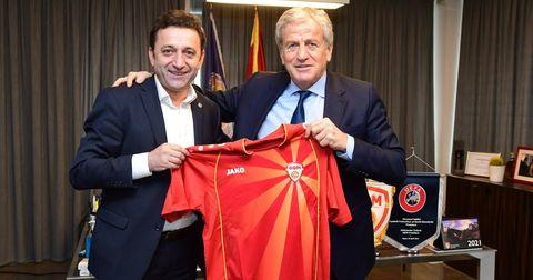 Сејдини и Поповски одржаа состанок со челниците на Турскиот фудбалски сојуз (ФОТО)