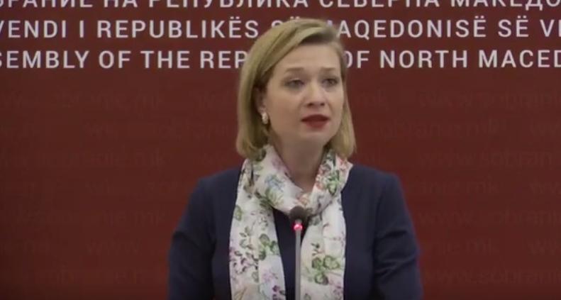 Василевска: На денешната јавна расправа за концепцијата за основно образование власта оневозможи да се следат излагањата на експерите