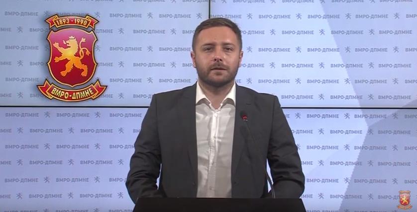 Арсовски: Фирмата на братот на Љупчо Николовски наплаќа во кеш спротивно на закон, УЈП и ДКСК да отворат случај