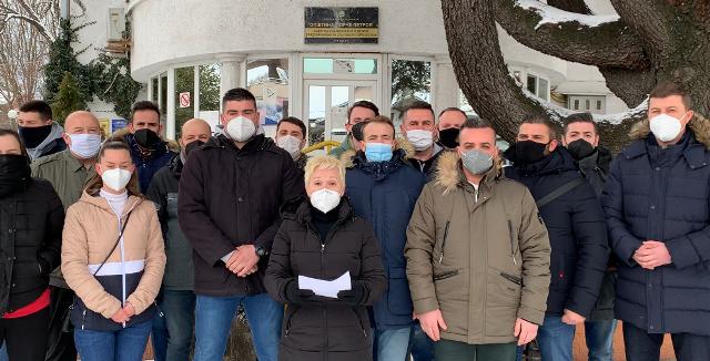 Нелоска: Снегот повторно ги изненади Наумоски и власта на СДСМ, за 100 илјади евра сите улици во Ѓорче требаше да бидат чисти!