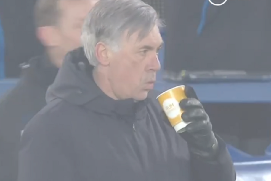 Анчелоти со урнебесно ладнокрвна реакција по голот за победа против Тотенхем: Тој видел се и сешто во кариерата (Видео)