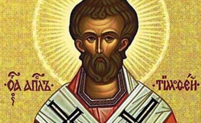 Се празнува Св. апостол Тимотеј