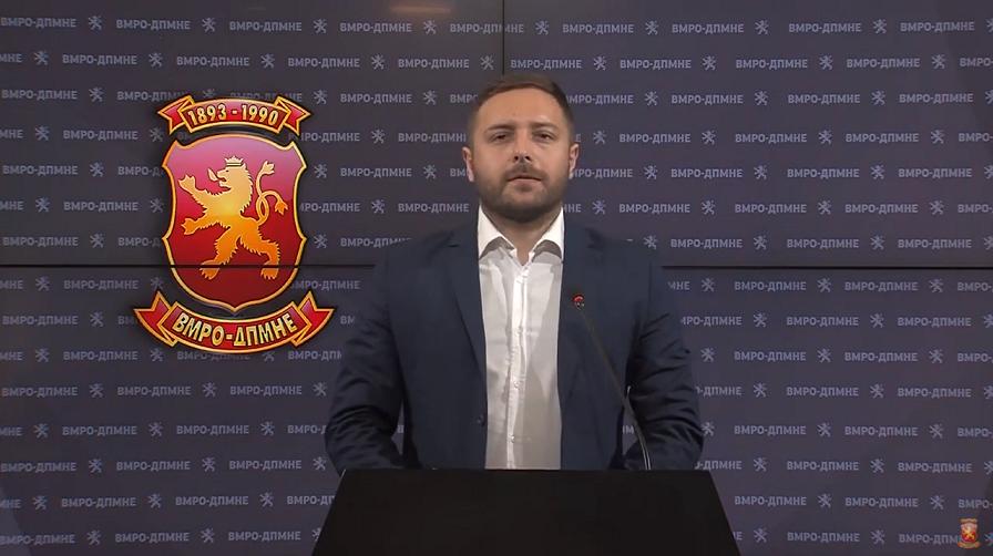 Арсовски: Заев преку неговиот коалиционен партнер, Љубчо Георгиевски го соопшти неговиот мастер план за идентитетско обезличување