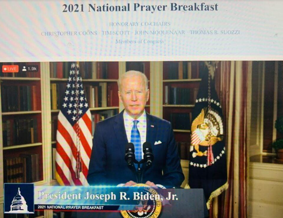 Николоски, Милошоски и Ѓорчев го следеа онлајн 69-от молитвен појадок во Вашингтон