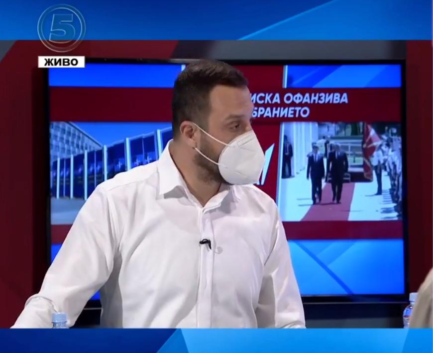 Богоевски призна: Со СДСМ на власт криминалот цвета, а тоа го потврди и Извештајот на Транспаренси Интернешнл