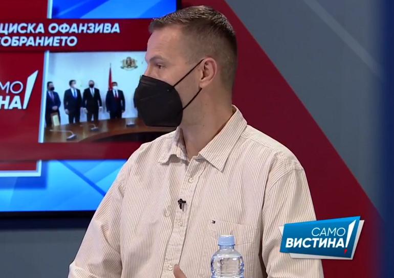 """Божиновски: Заев ги искористи сите случаи како """"Монструм"""" да ги придобие граѓаните со ноторни лаги, затоа сега има фрустрација од народот"""