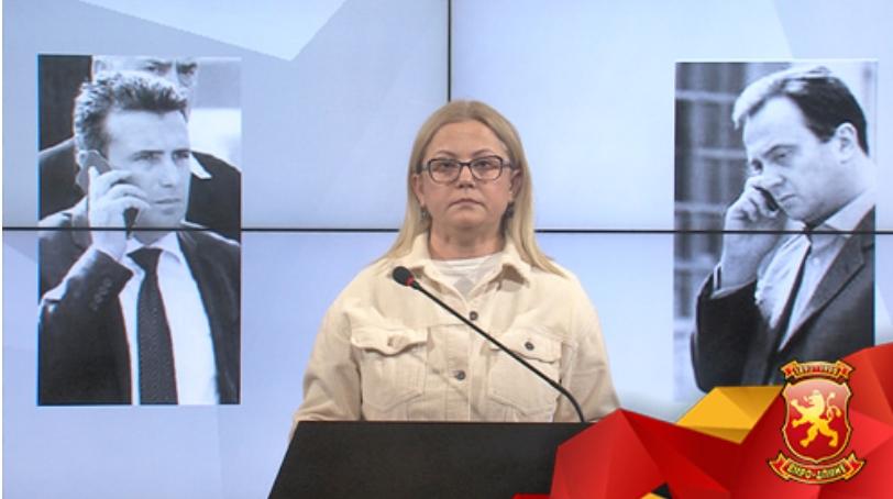 Стојаноска: Правдата за Мијалков донесена под притисок на јавноста, времето ќе покаже какви се договори има Заев-Мијалков