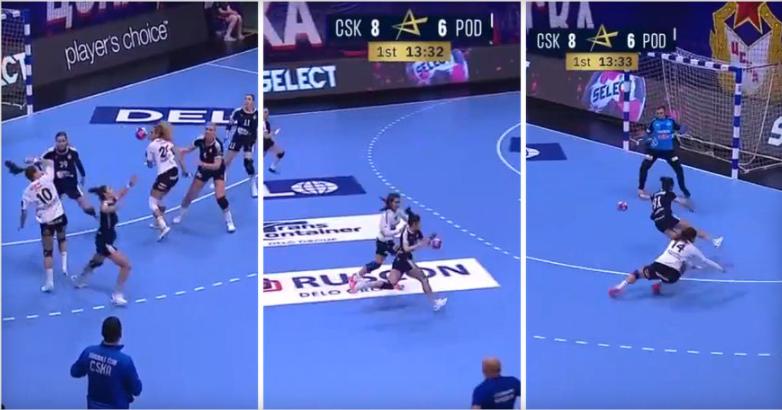 """ВИДЕО: Атракција на Ристовска – украдена топка, спринт и """"сув лист""""!"""