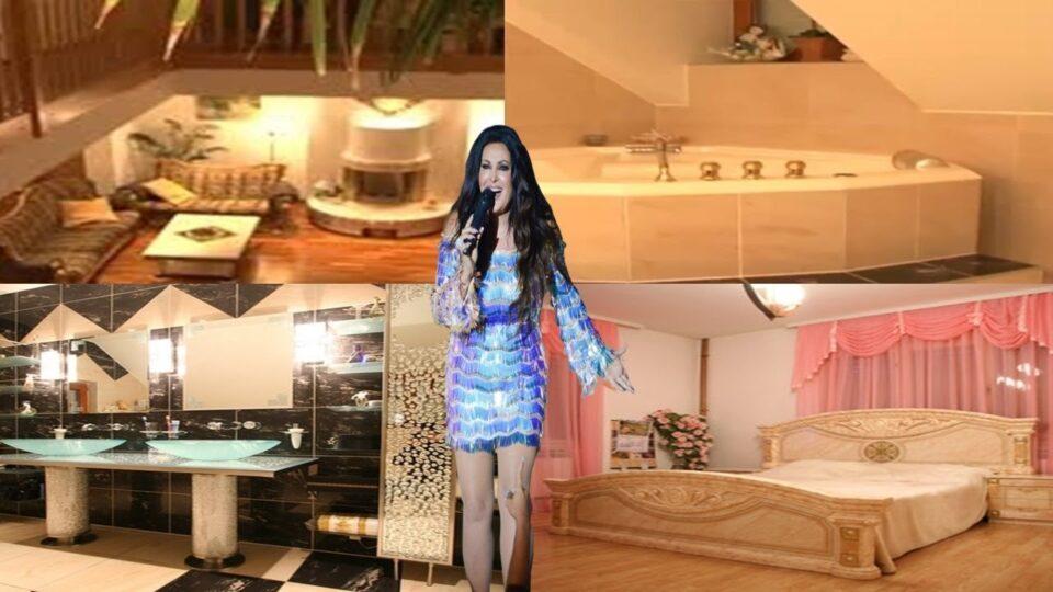 ВИДЕО: Тоалет од кристали, базен среде дневната соба- Драгана Мирковиќ дефинитивно го има најлуксузниот дом на естрадата