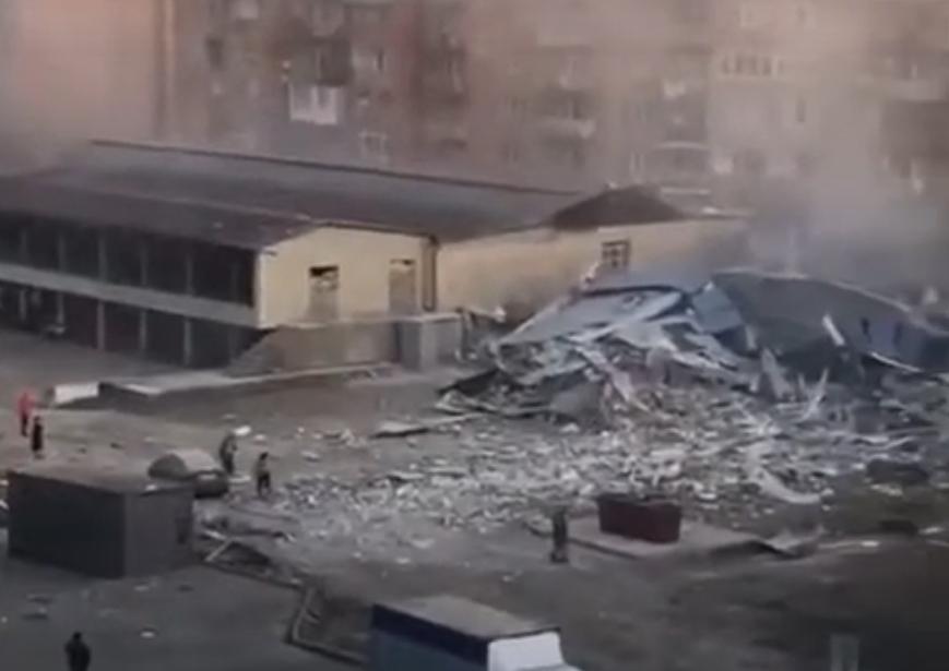 Експлозија во супермаркет во Русија, едно лице повредено