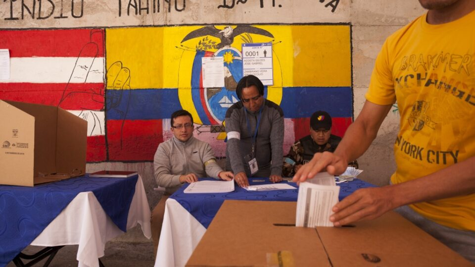 Еквадор избира нов претседател