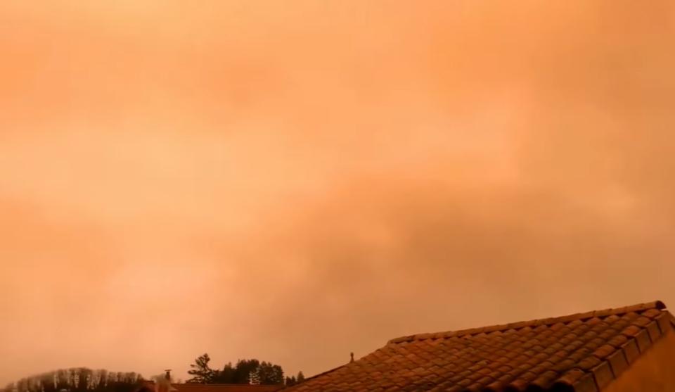 НЕОБИЧНА ПОЈАВА: Небото во Франција обоено во жолта боја – еве што се случува (ФОТО+ВИДЕО)