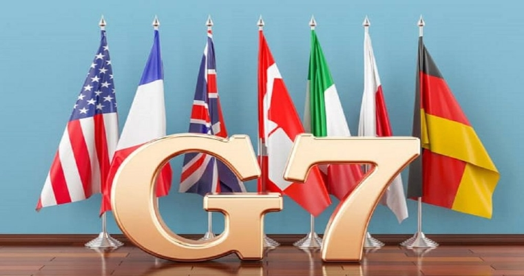Кралицата Елизабета приреди прием за лидерите на Г7