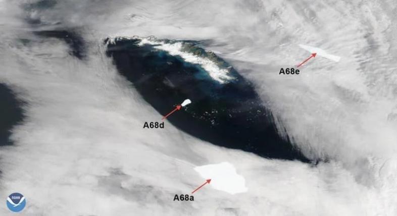 ИЗБЕГНАТА ЕКОЛОШКА КАТАСТРОФА – во Аталнтикот се распадна огромен глечер