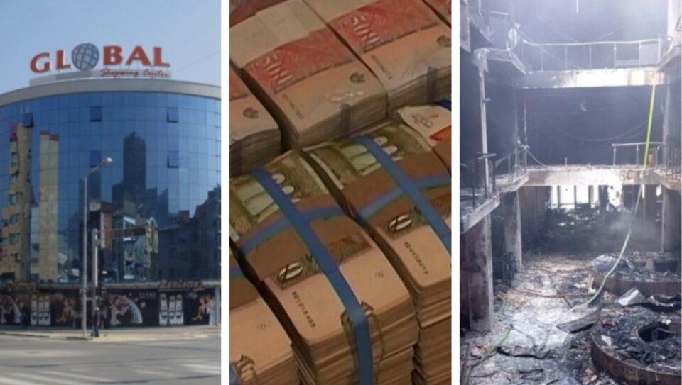 """Општините кријат дали и колку пари донирале за обнова на опожарениот ТЦ """"Глобал"""""""
