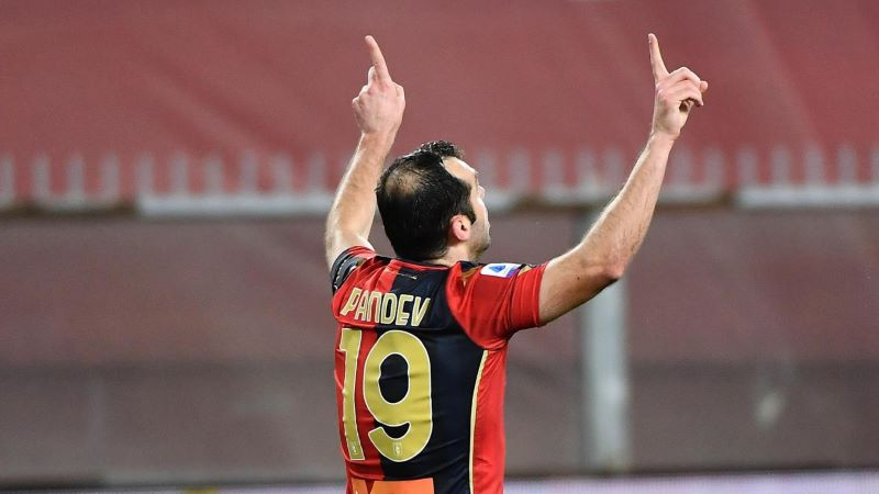 Горан Пандев во тимот на колото во Серија А (ФОТО)