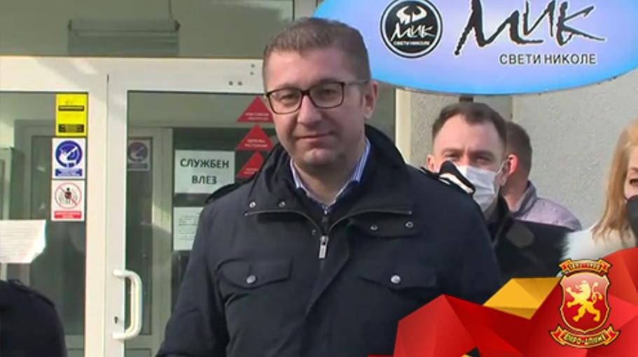 Мицкоски од Свети Николе порача: Македонија е земја со најсиромашен народ и најбогат премиер