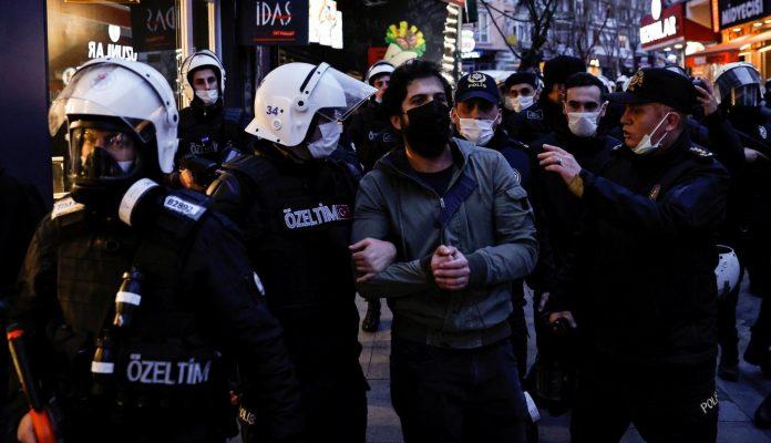 """Ердоган ги нарече """"терористи"""" студентите што протестираат"""