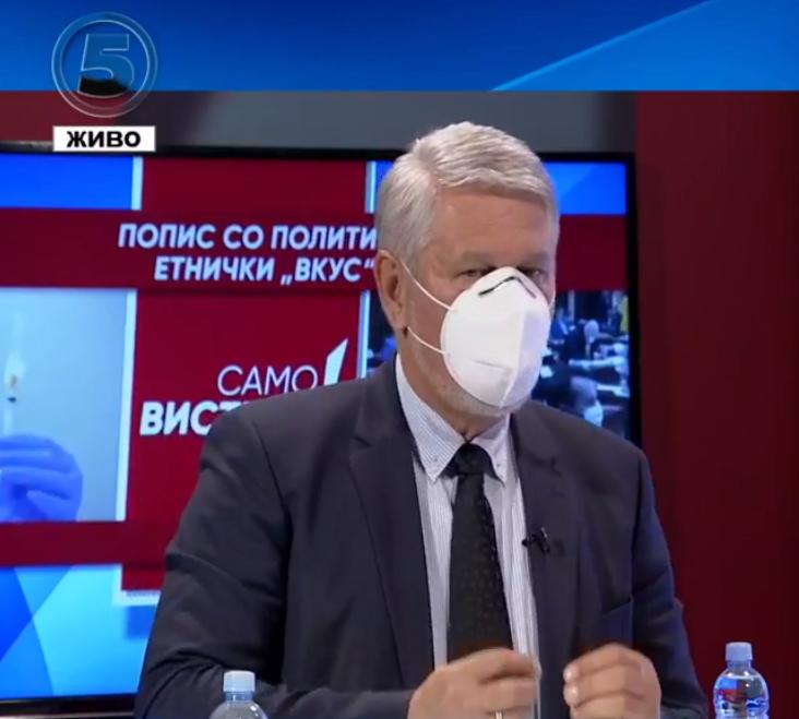Јакимовски: Владата намерно создава политички тензии за пописот за да се прикрие корупцијата и сиромаштијата