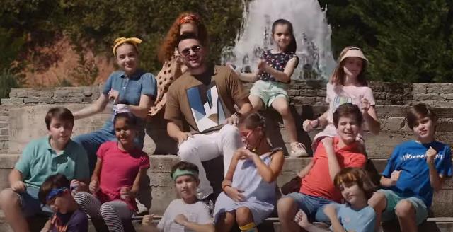 """Лозано со нов хит за најпознатата детска емисија """"Дајте музика"""" (ВИДЕО)"""