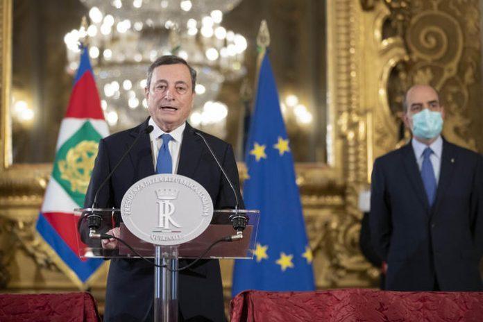 Драги го доби мандатот за состав на владата на Италија, неизвесна поддршката