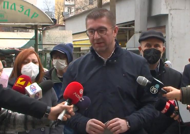 Мицкоски: Што треба ние како ВМРО-ДПМНЕ да направиме, ќе направиме за добавување на вакцини против КОВИД – 19 бидејќи власта е тотално неспособна