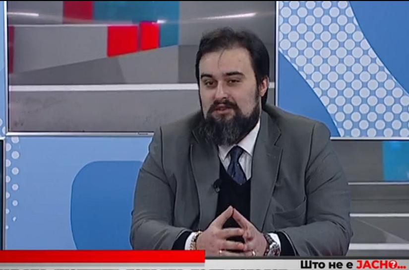 """Митовски: Аферата """"Рекет 4"""" не е само перцепција, туку реална состојба во Македонија"""