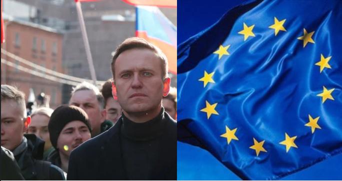 ЕУ со остра осуда за затворската казна на Алексеј Навални