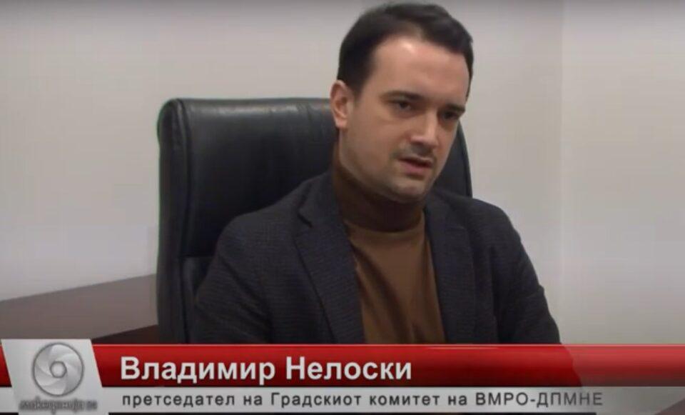 Нелоски: Започнуваме со граѓанска иницијатива за собирање потписи, нема да дозволиме Заев и Владата да го замолчат македонскиот народ!
