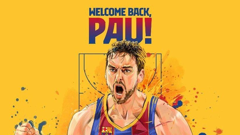 ОФИЦИЈАЛНО: Пау Гасол се врати во Барселона