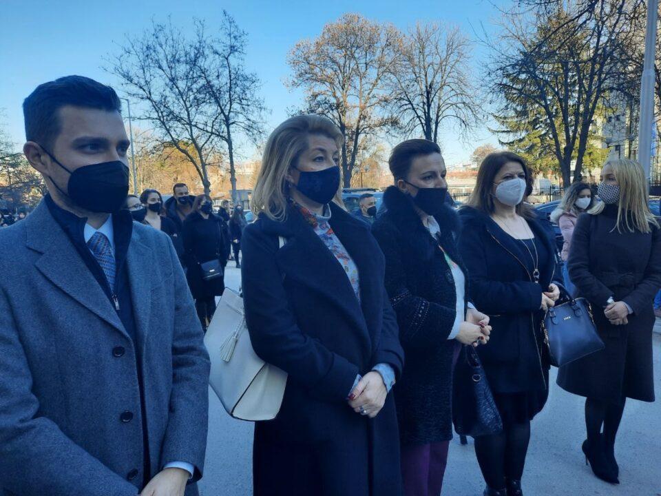 Пешевска: Барањата на граѓаните се и наши барања, излеговме денес да дадеме поддршка на протестот за поддршка на жртвите од групата на телеграм