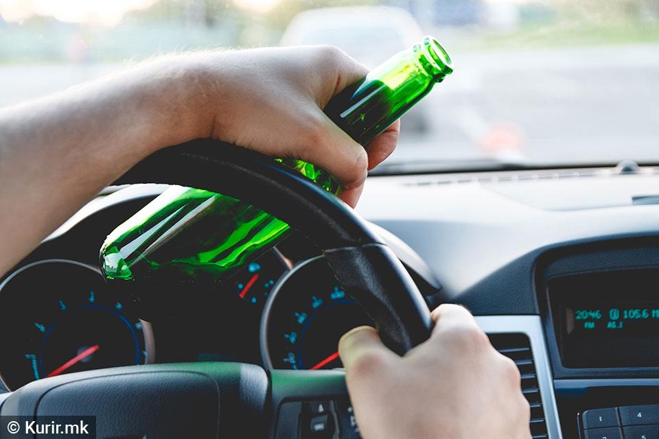 95 санкции за возење под дејство на алкохол