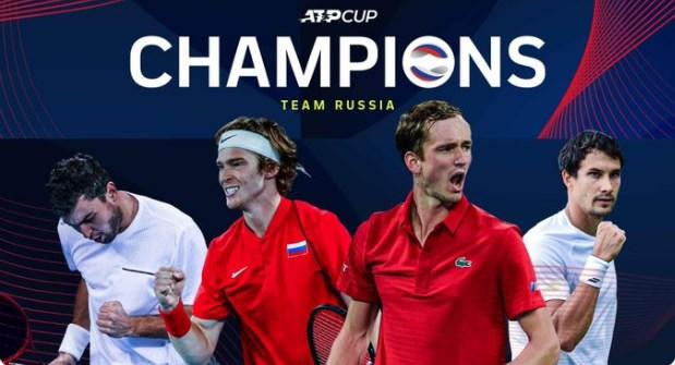 Русија го освои АТП Купот