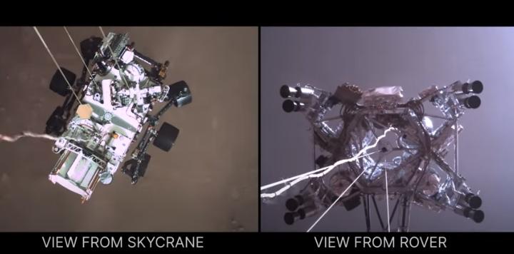 ВИДЕО: НАСА со нова објава, еве како роверот слета на Марс