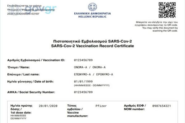 Оваа наша соседна држава веќе започна со издавање на сертификат за вакцинација