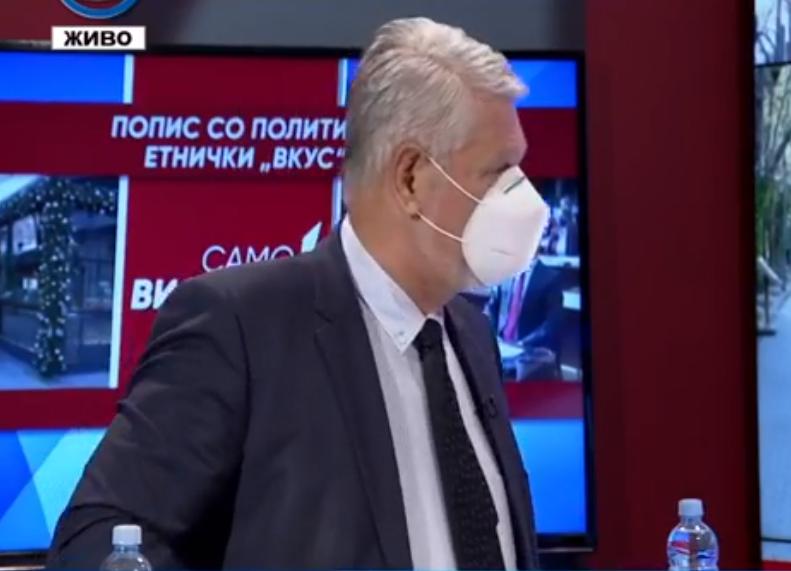 Јакимовски: Попис не може да се тера на сила, зошто брзање да биде на први април годинава
