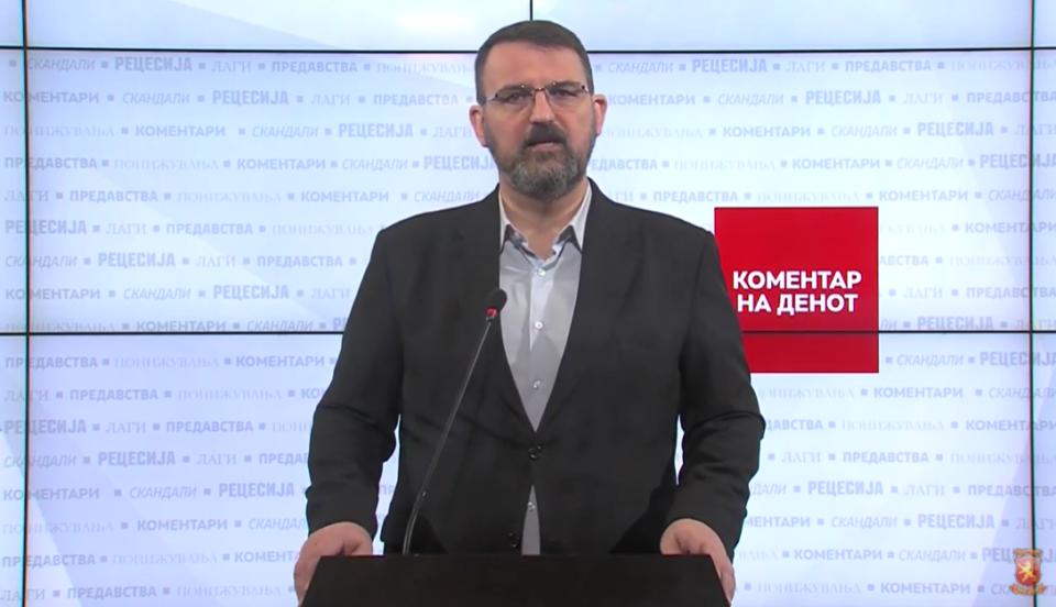 Стоилковски: Режимот на Заев лажира податоци за епидемијата заради политички зафати
