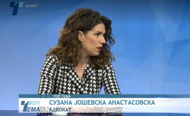 Адвокат Јошевска Анастасовска: Ова не е триумф, Заев прави упад во судската власт, ова е пораз на демократијата