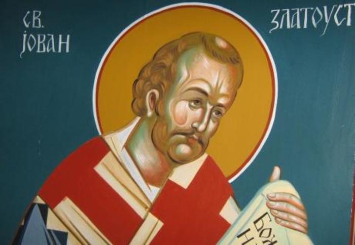Денеска е Пренос на моштите на Св. Јован Златоуст