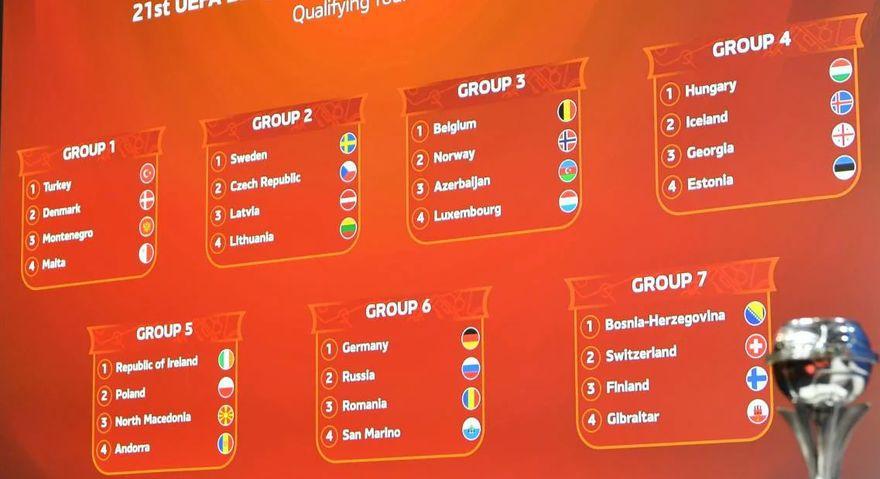Македонија до 17 години ги доби противниците за квалификациите за ЕП 2022 година