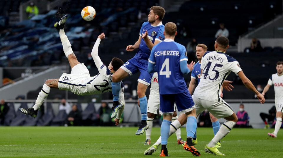 Уште една убедлива победа на Тотенхем во Лигата на Европа