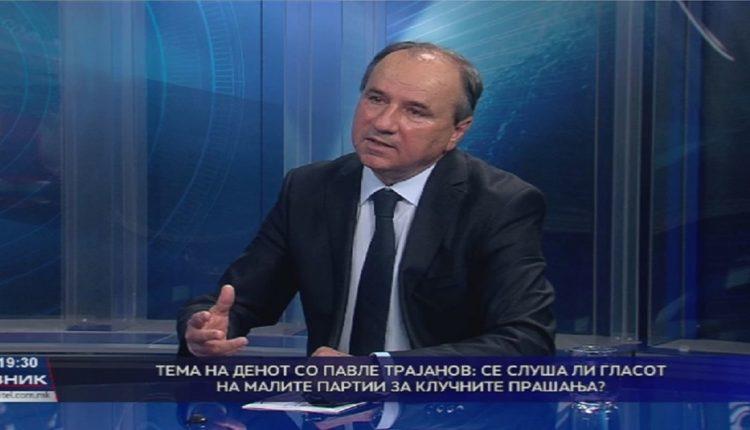 Коалициониот партнер на Заев Трајанов: Македонија е високо криминализирана држава