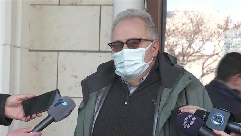 Се одложи судењето против Јово Вангеловски, судијката е во изолација