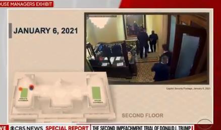 Демократите објавија досега невидено видео од упадот во Капитол хил