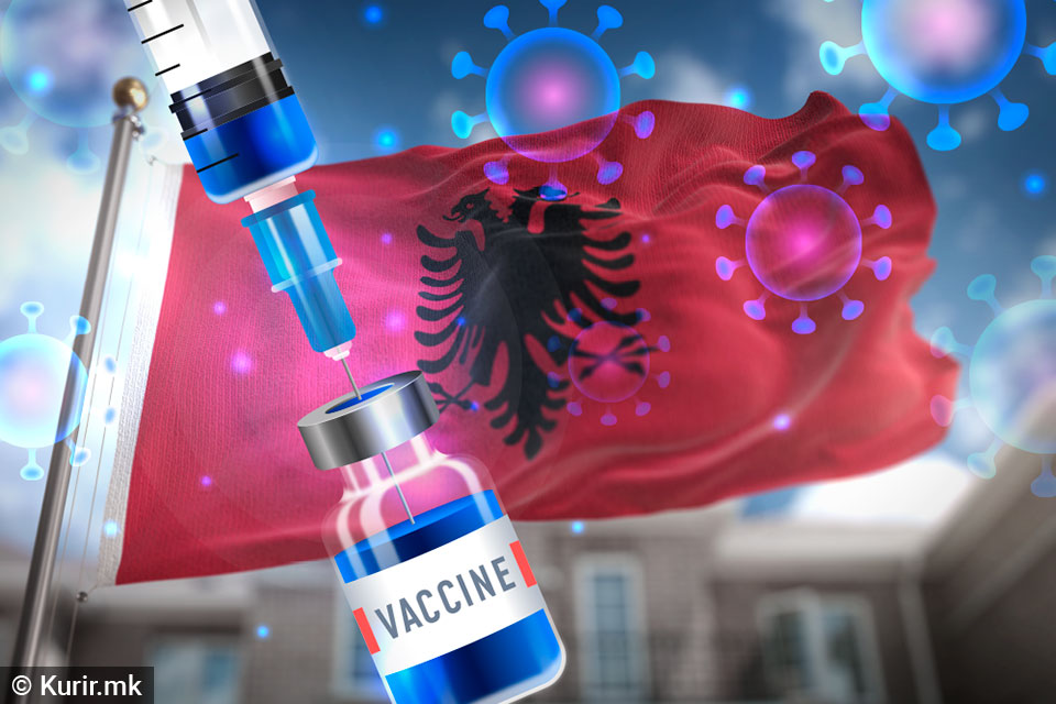 Во Албанија вакцинирани над 250 илјади лица