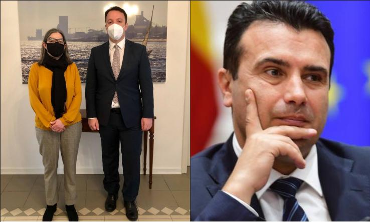Николоски оствари средба со амбасадорката на Португалија, а Заев во последните шест месеци нема ниту една средба со европски премиер
