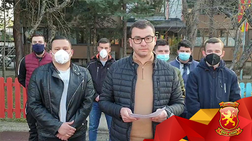 Андоновски: СДСМ е очајна па удира по младите, без никакво образложение во полициска станица беа задржани повеќе членови на Унијата на млади сили во Пробиштип